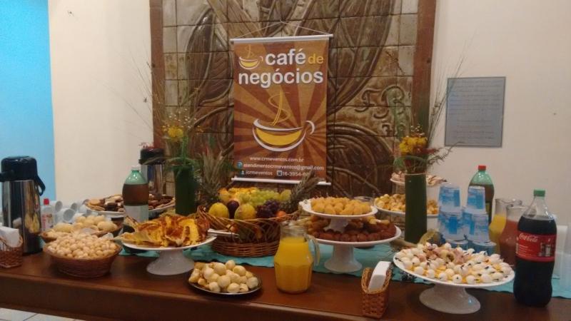 1º Café de Negócios