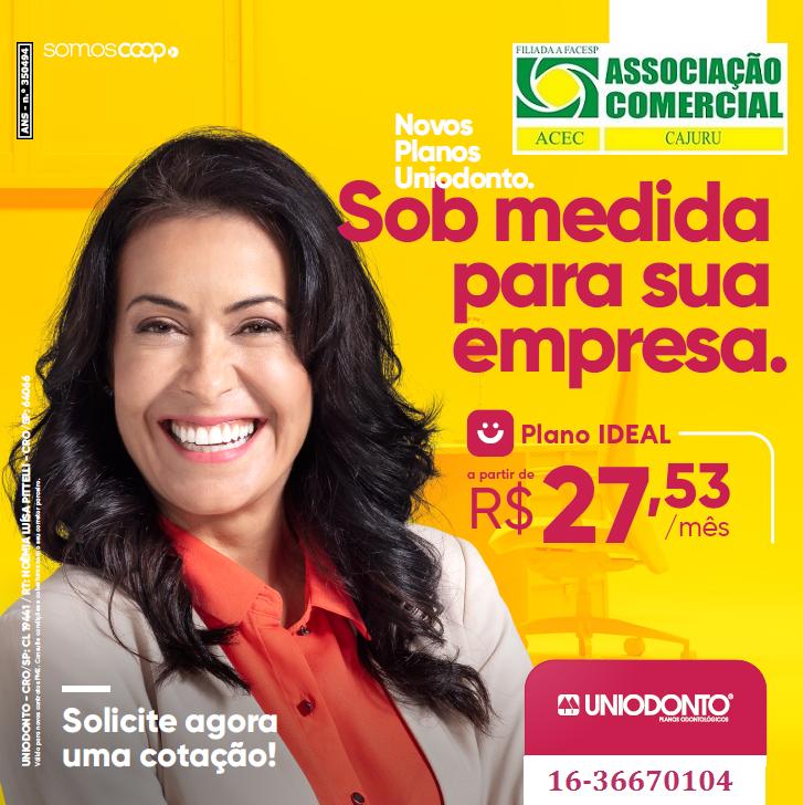 Faça parte de uma das maiores redes odontológicas do Brasil