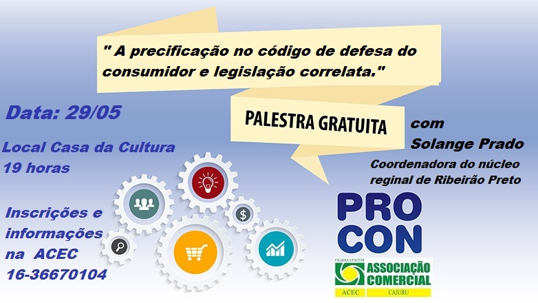 Palestra do PROCON