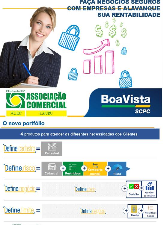 O novo portfólio PJ da Boa Vista SCPC